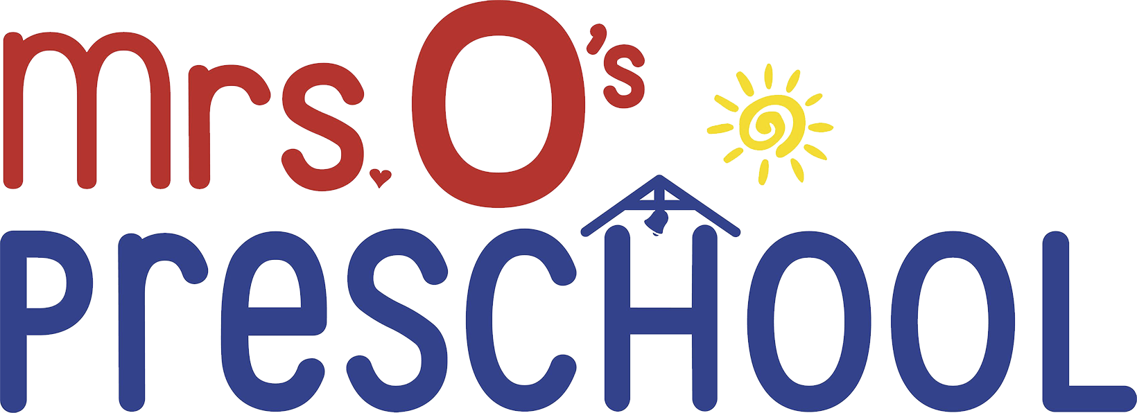 Mrs. O.'s Preschool Logo